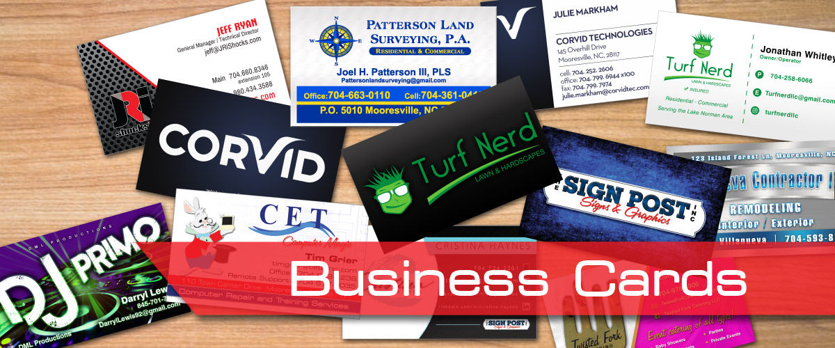 The Importance of a Good Business Card - The Sign Post